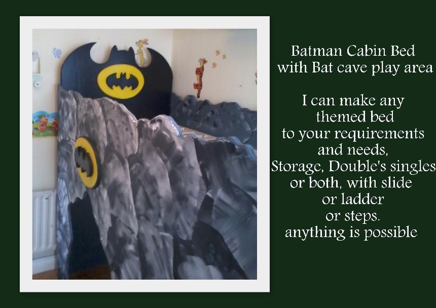 Batman Cave Bed