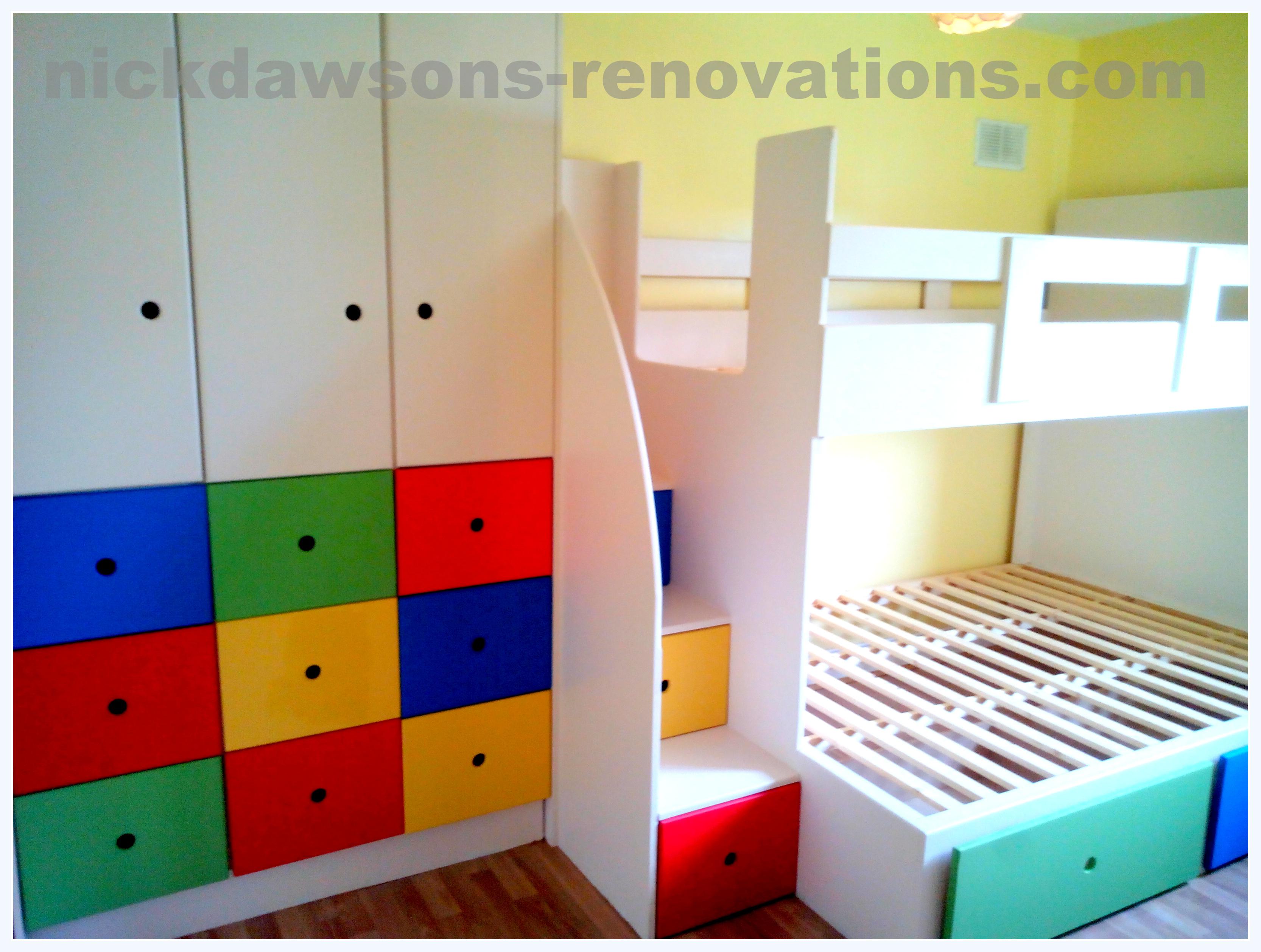 childrens storage beds