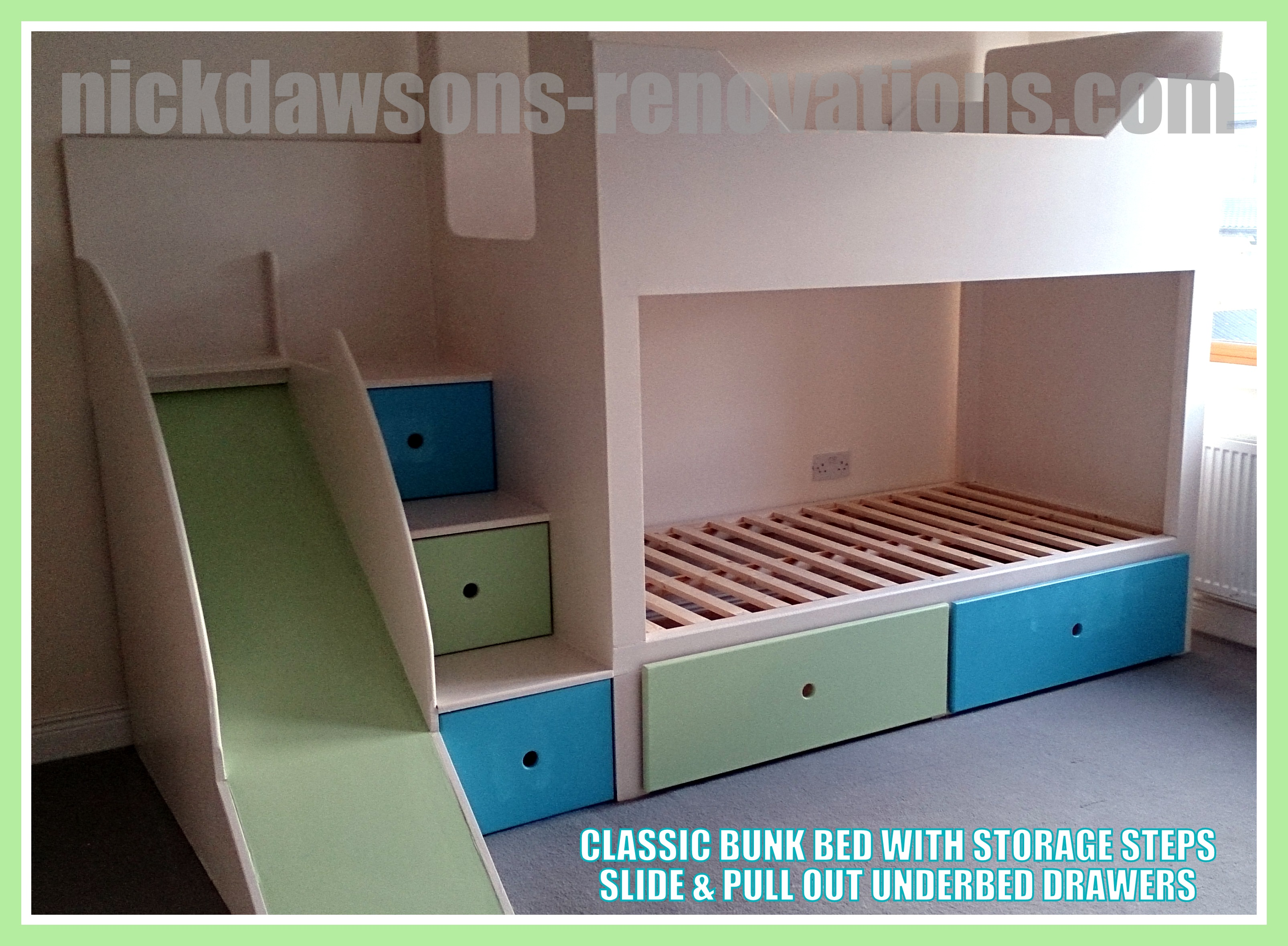 Childrens Storage Beds Bespoke Childrens Beds