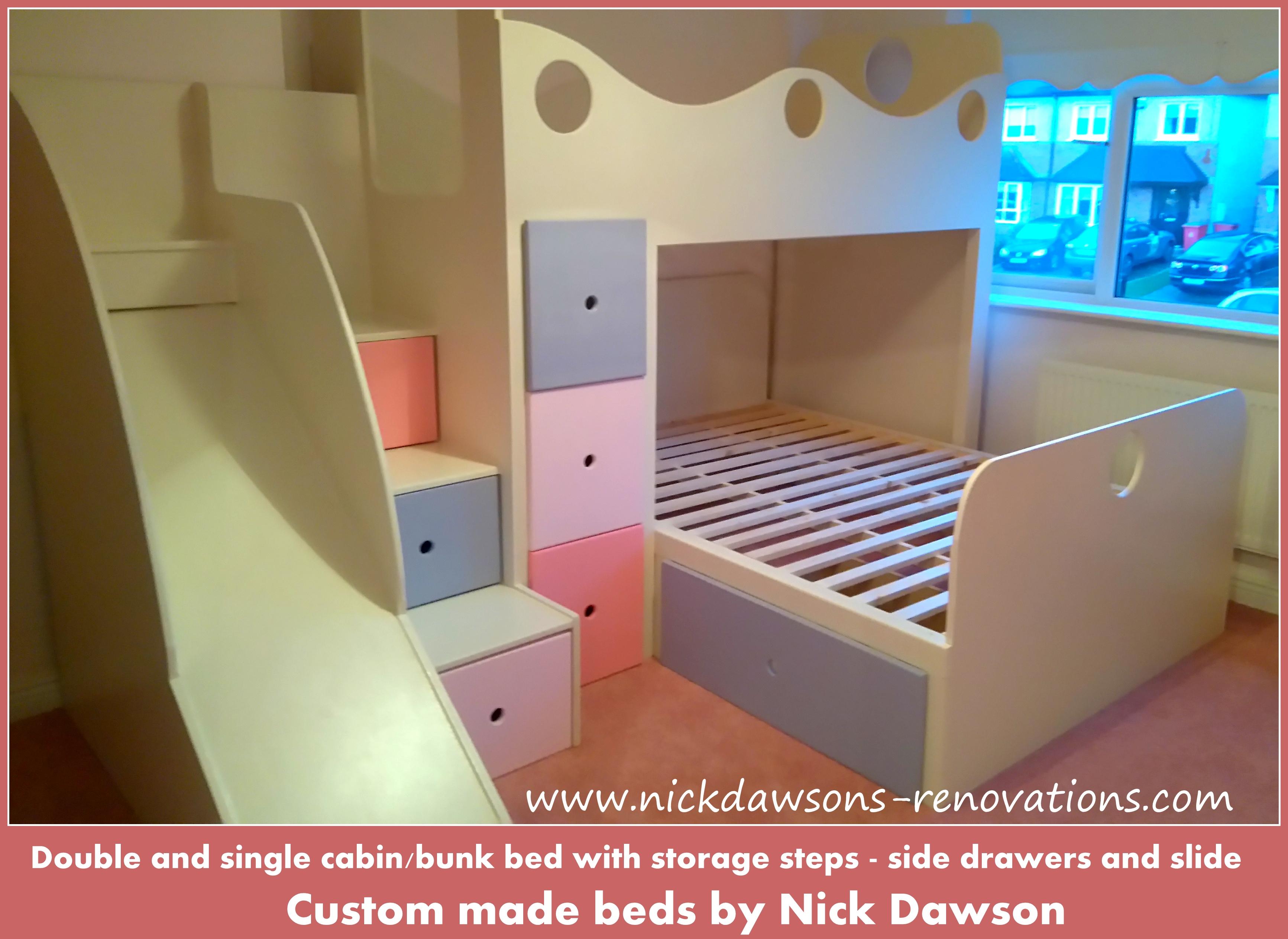Childrens Storage Beds Bespoke Childrens Beds