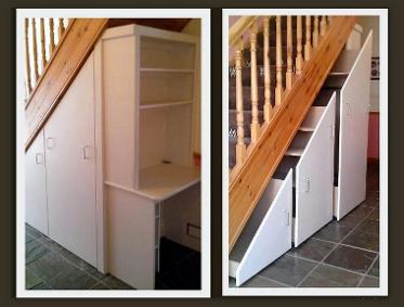 The E Under Stairs Provides Wonderful Place For Storage I Can Install Cabinets Shelves Or Bo Wver You Require Your